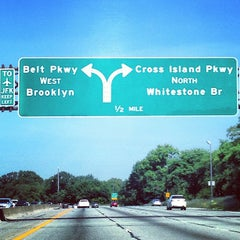 Photo taken at Belt Parkway by Anthony F. on 7/7/2013