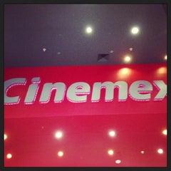 Photo taken at Cinemex by Betzaida H. on 4/5/2013