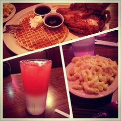Photo taken at Roscoe's House of Chicken and Waffles by Geoff O. on 1/2/2013