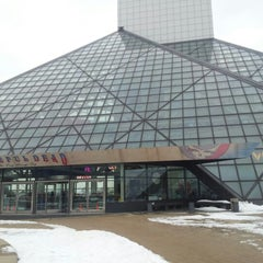 Photo taken at The Rock and Roll Hall of Fame and Museum by Bryon M. on 1/6/2013