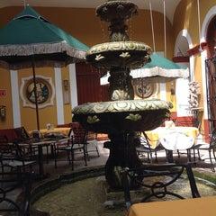 Photo taken at Hotel San Francisco Plaza by Jose R. on 3/22/2014