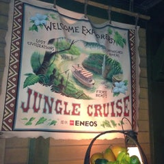 Photo taken at ジャングルクルーズ (Jungle Cruise) by Noriko S. on 5/17/2013