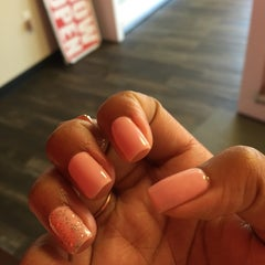 Photo taken at Luxe Nail Salon by Cayla C. G. on 3/28/2015