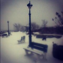 """Photo taken at Terrasse  """"Pierre-Dugua-De Mons"""" by Kowaq on 12/15/2012"""