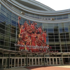 Photo taken at Toyota Center by xu t. on 5/23/2013