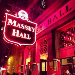 Photo taken at Massey Hall by Jeff B. on 9/22/2012