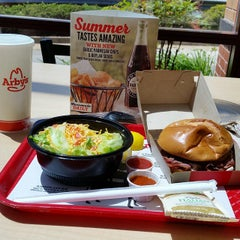Photo taken at Arby's by Mario R. on 5/1/2015