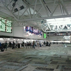 Photo taken at Nashville International Airport (BNA) by Lori D. on 10/5/2012