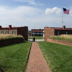 Photo taken at Fort McHenry National Monument and Historic Shrine by Chauncey F. on 7/20/2013