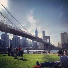 Photo taken at Under The Brooklyn Bridge by Beth W. on 5/27/2013