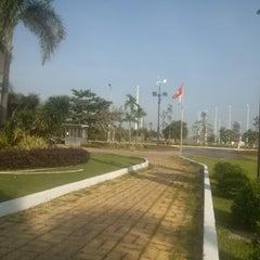 Photo taken at Khu Công Nghệ Cao Tp.HCM (SaiGon Hi-Tech Park) by Cuong N. on 10/21/2012