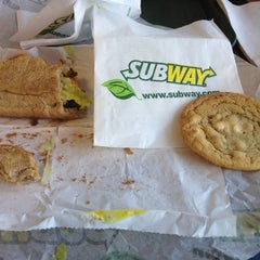 Photo taken at Subway by Diego R. on 10/20/2012