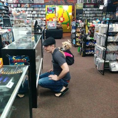 Photo taken at Game Over Videogames by Alachia Q. on 11/14/2015