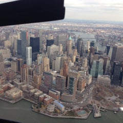 Photo taken at East 34th Street Heliport (TSS) by Andreas K. on 1/1/2014