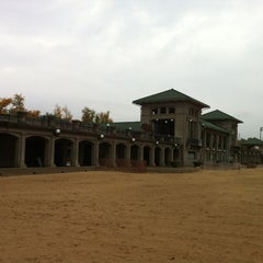 Photo taken at 63rd Street Beach by Jeremy M. on 10/23/2012