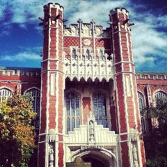 Photo taken at Bizzell Memorial Library by Gabi C. on 10/18/2013