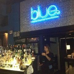 Photo taken at Blue Tapas Bar & Cocktail Lounge by Angela H. on 10/18/2012