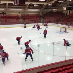 Photo taken at Bright Hockey Center by Dmitri E. on 12/23/2012