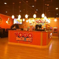 Photo taken at Yogo Factory by Rosette Ann P. on 2/25/2014