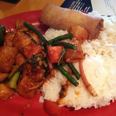 Photo taken at Pei Wei by Ayanna D. on 10/21/2012
