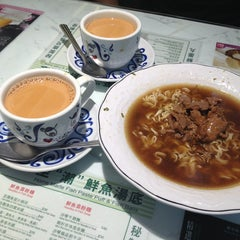 Photo taken at Tsui Wah Restaurant 翠華餐廳 by Joey C. on 8/15/2013