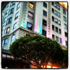 Photo taken at The Stanford Court San Francisco by Michael Y. on 3/2/2013