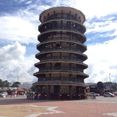 Photo taken at Menara Condong (Leaning Tower) by Davy® M. on 11/1/2012