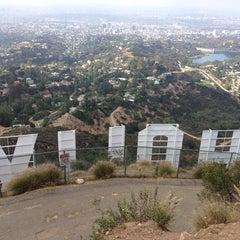 Photo taken at Hollywood Sign by Seulki J. on 5/27/2013