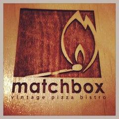 Photo taken at Matchbox Vintage Pizza Bistro by Faiz S. on 2/14/2013