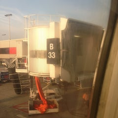 Photo taken at Gate B33 by Clay M. on 9/16/2013