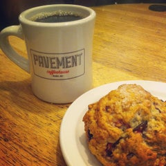 Photo taken at Pavement Coffeehouse by Haley M. on 6/27/2013