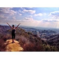 Photo taken at Hollyridge Trail by @_katrinab on 12/21/2013