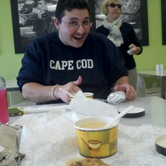 Photo taken at Saybrook Soup & Sandwich Co. by Jessica M. on 10/25/2012