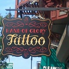 Photo taken at Hand of Glory Tattoo by Lawrence L. on 8/30/2013