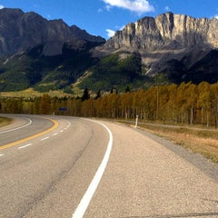 Photo taken at Bow Valley Provincial Park by Steve T. on 10/6/2012