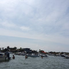 Photo taken at Intercoastal Sandbar by Will L. on 5/24/2014