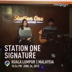 Photo taken at Station One Signature by Boon Huat L. on 6/26/2013