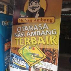 Photo taken at Mr. Nasi Ambang by mohd fareed on 2/10/2013