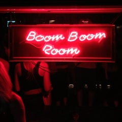 Photo taken at Boom Boom Room by Stephen T. on 10/6/2012