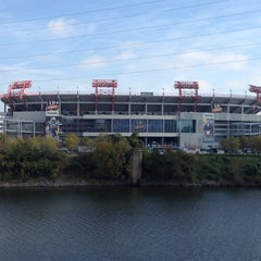 Photo taken at LP Field by CO on 11/4/2012