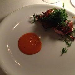 Photo taken at Marque Restaurant by Joachim B. on 2/6/2014