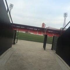 Photo taken at Stade de la Maladiere by Dan-Mihai I. on 11/8/2014