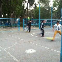 Photo taken at Parque Arboledas by Enrique M. on 1/18/2013