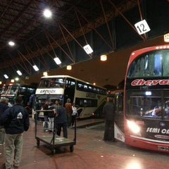 Photo taken at Terminal de ómnibus de Córdoba by Gonzalo F. on 3/15/2013