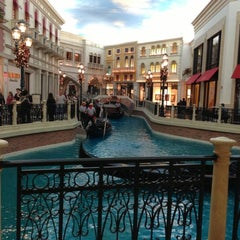 Photo taken at Venetian Canal by Morgan N. on 11/29/2012