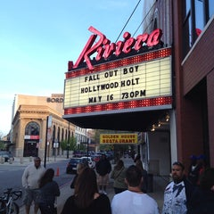 Photo taken at Riviera Theatre by Christopher S. on 5/17/2013