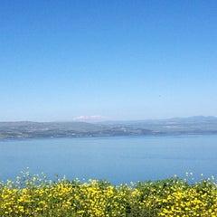 Photo taken at Sea of Galilee - Kinneret (כנרת) by Sefi S. on 3/3/2013