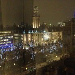 Photo taken at Hilton Rotterdam Hotel by Serkan A. on 1/7/2013