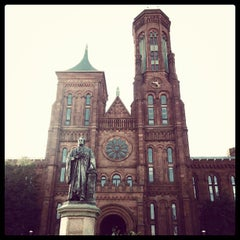 Photo taken at Smithsonian Institution Building (The Castle) by Heather M. on 11/23/2012