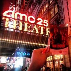 Photo taken at AMC Empire 25 by Mike Z. on 2/13/2013